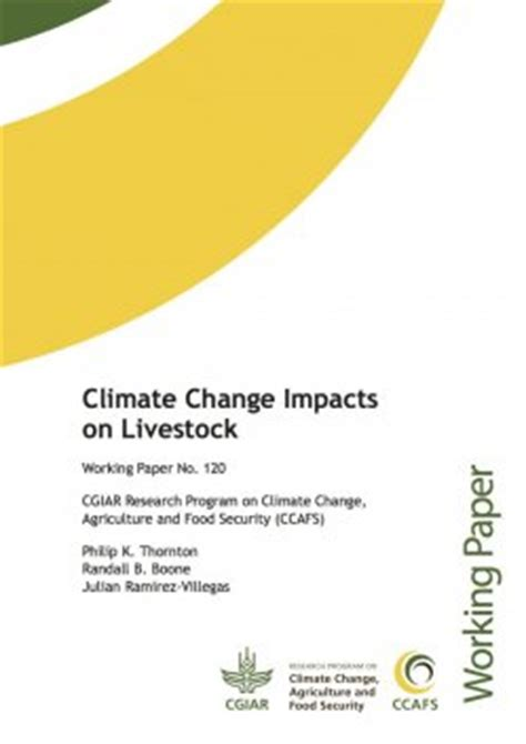 Climate change effects on agriculture essay